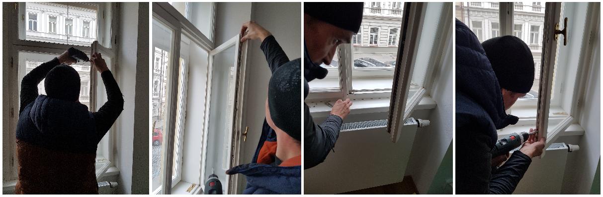 Oprava OS převodu špaletové okno