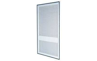 Síťové dveře - barva bílá, hnědá