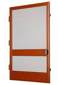 Síťové dveře DV 50x20 mm imitace dřeva