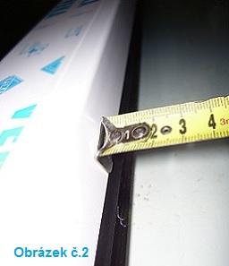 Měření žaluzií u plastových oken a eurooken