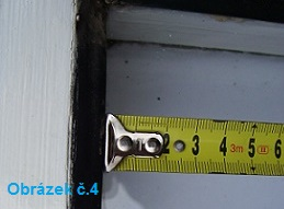Měření starých dřevěných oken
