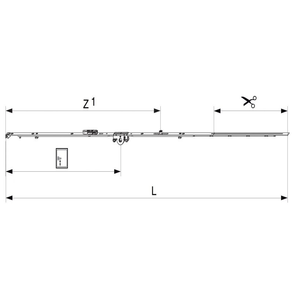 PŘEVODOVKA 1090 DX FIXNÍ, DM15, MM FFH 841-1090 GM400