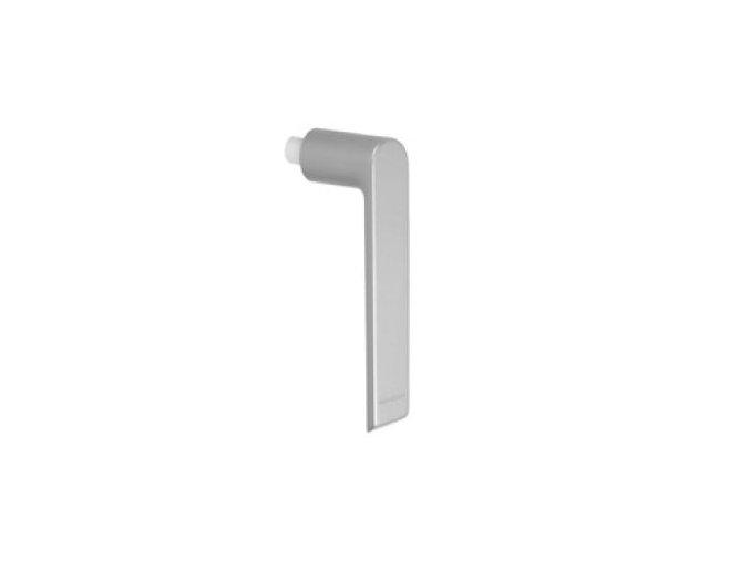 SCHÜCO Nástrčná klika stříbrná matná -S247543
