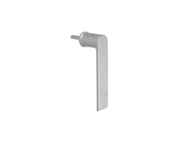 SCHÜCO Montážní klika stříbrná matná pro AL okna -S247544