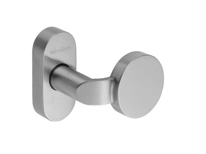 SCHÜCO Dveřní klika pro hliníkové dveře INOX leštěná nerez - S240708 (S240299)