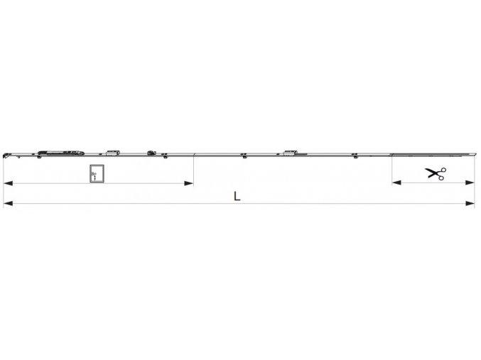 ŠTULPOVÁ PŘEVODOVKA MM 1700 FIXNÍ, 2 I.S. FFH 1591-1700 GM700