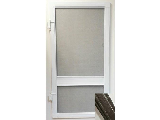 Síťové dveře - TMAVĚ HNĚDÁ RAL 8019