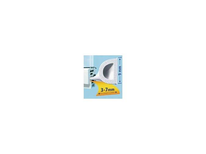 Gumové těsnění D profil - tesamol®