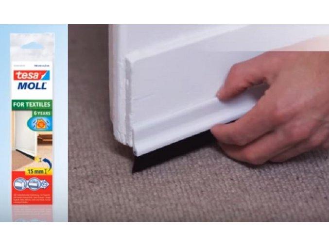 Kartáčová lišta koberec komplet
