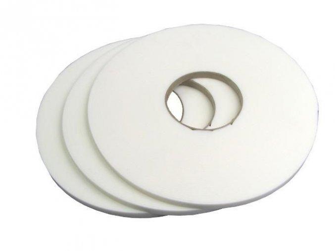 Zasklívací páska PE bez krycí fólie 9x2mmx20m bílá Extra