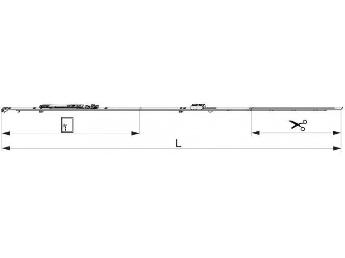 ŠTULPOVÁ PŘEVODOVKA MM 840 FIXNÍ, FFH 661-840 GM300