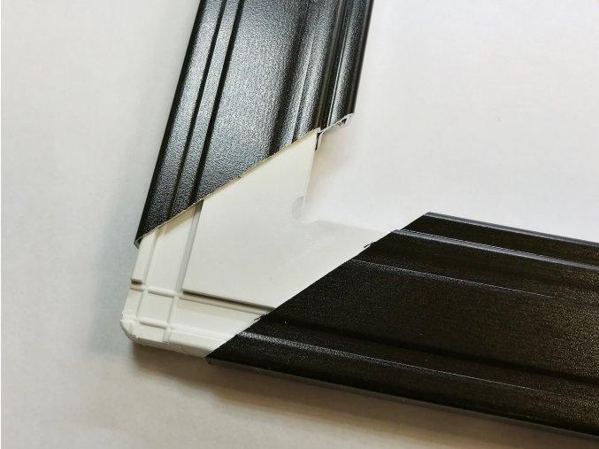 Plastový roh VNITŘNÍ - dveřní sítě