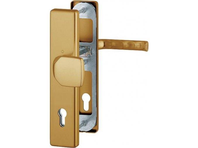 Dveřní kování London, klika-koule, 8/92 mm, 66-72 mm, bronz