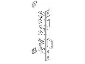 """SCHÜCO Dveřní zámek pro hliníkové dveře pravolevý - dorn 34, rozteč 92, čelo """"U"""" 245 -S241469"""