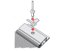Montáž otočného držáku