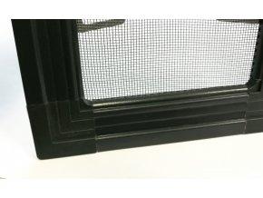 Okenní síť proti hmyzu ISSO - ANTRACITOVÁ ŠEDÁ RAL 7016