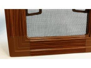 Okenní síť proti hmyzu ISSO - IMITACE DŘEVA