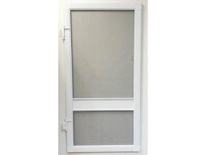 Síťové dveře - BÍLÉ