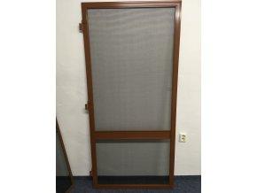 Síťové dveře - SVĚTLE HNĚDÁ RAL 8003