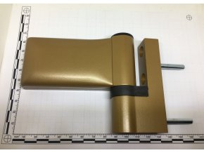 Dveřní pant KT-EV, 18 -23 mm, RAL1036 bronz