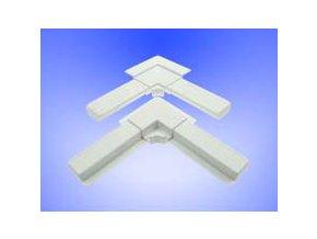 Plastový roh VNĚJŠÍ 25x10 - okenní sítě