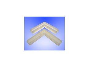 Plastový roh VNITŘNÍ 25x10 - okenní sítě
