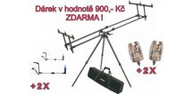 MIVARDI AKCE - Tripod Premium + ZDARMA 2 x Sounder Easy a 2 x SWINGARM Easy