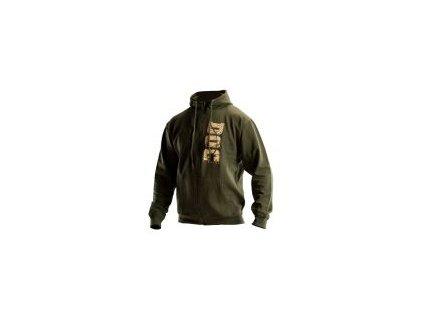 Mikina DOC s kapucí - zelená