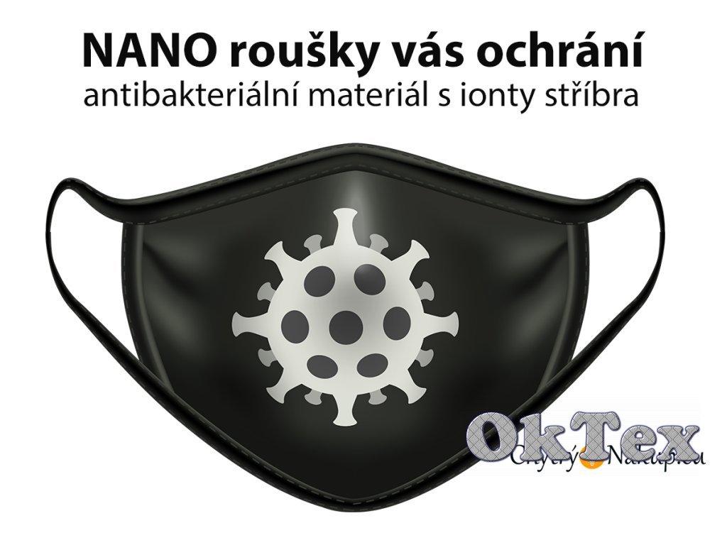 107 6 nano rouska cerna