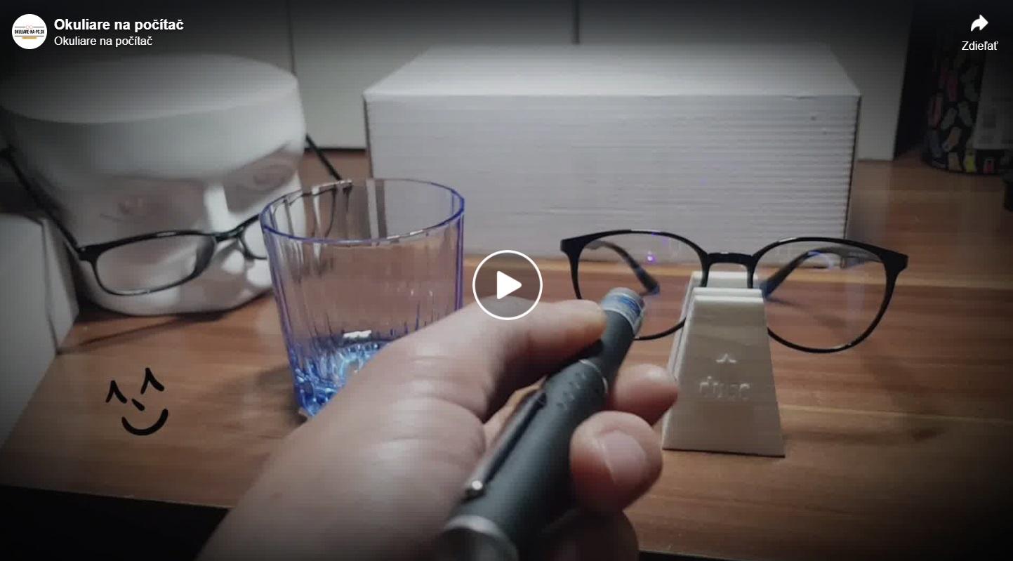 Video okuliare modré svetlo