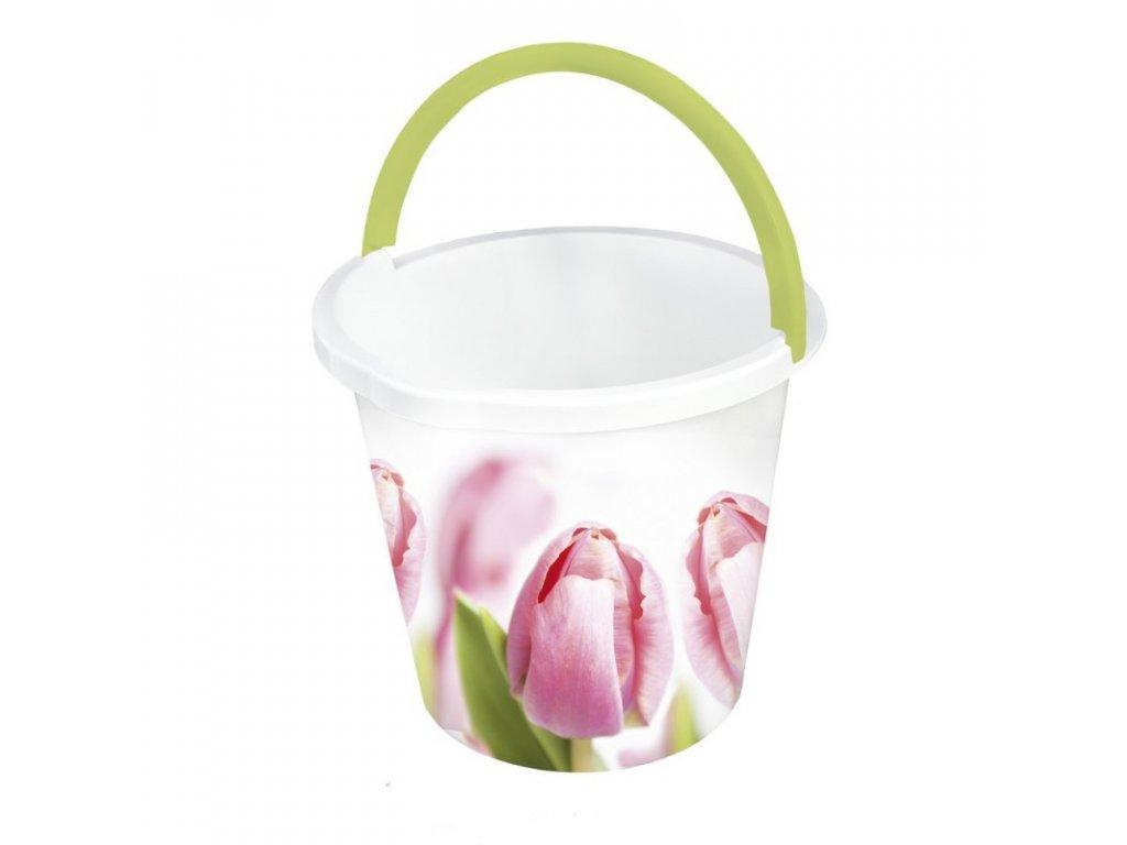 Plastový kbelík s potiskem 10l