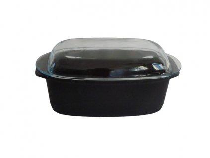 Titanový pekáč se skleněným víkem 5 l BAF Gigant