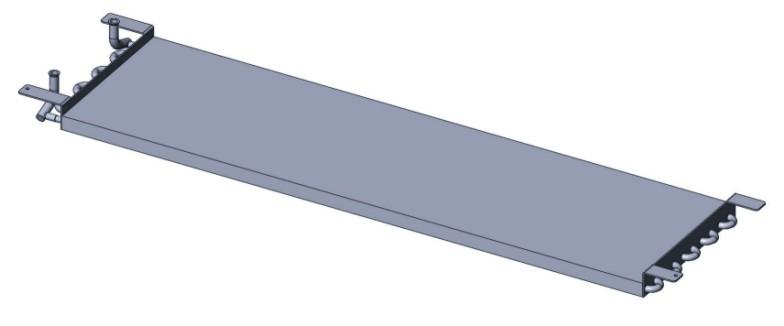 Teplovodní topný článek 2,6kW / CDP-CDF Provedení: CDP 40-40T / CDF 40 094333
