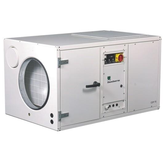 Bazénový odvlhčovač Dantherm CDP 75 Provedení: vodou chlazený kondenzátor 351553