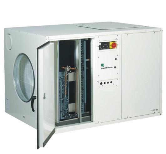 Bazénový odvlhčovač Dantherm CDP 165 Provedení: vodou chlazený kondenzátor, Napájení: 3x400V 351559