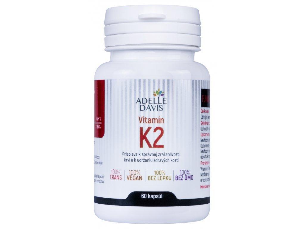 VITAMÍN K2 (MK-7), 100 MCG, 60 KAPSÚL