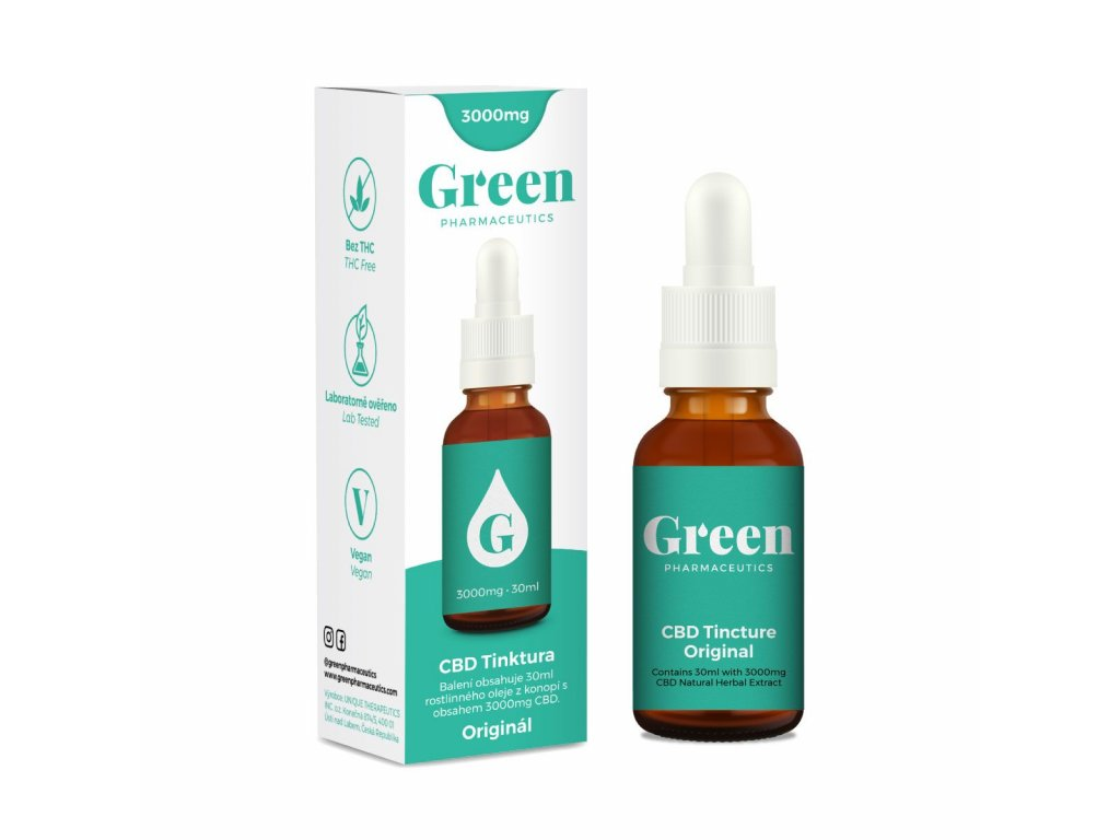 Green Pharmaceutics Tincture 3000mg