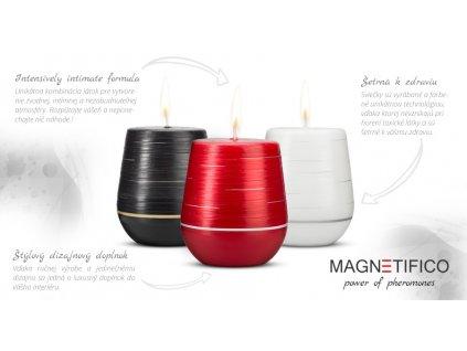 afrodizikálne sviečky magnetifico