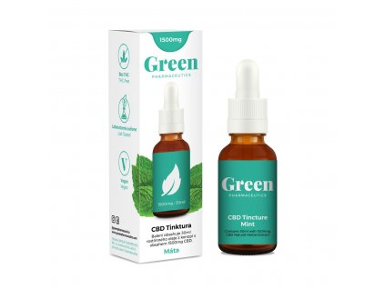 Green Pharmaceutics Tincture Mint