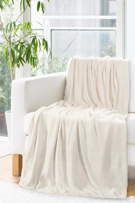 Jemná béžová deka INGA 150x200 cm