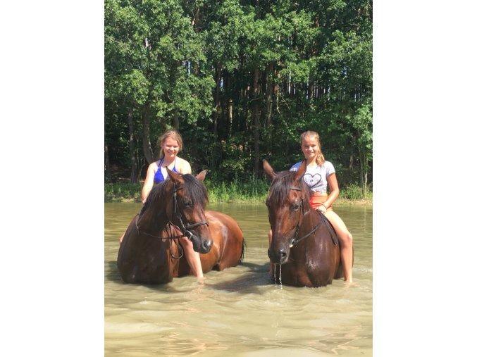 Prázdniny u koní 6. turnus  4. SRPEN - 9. SRPEN 2019 pro mladší děvčata (8-12 let)