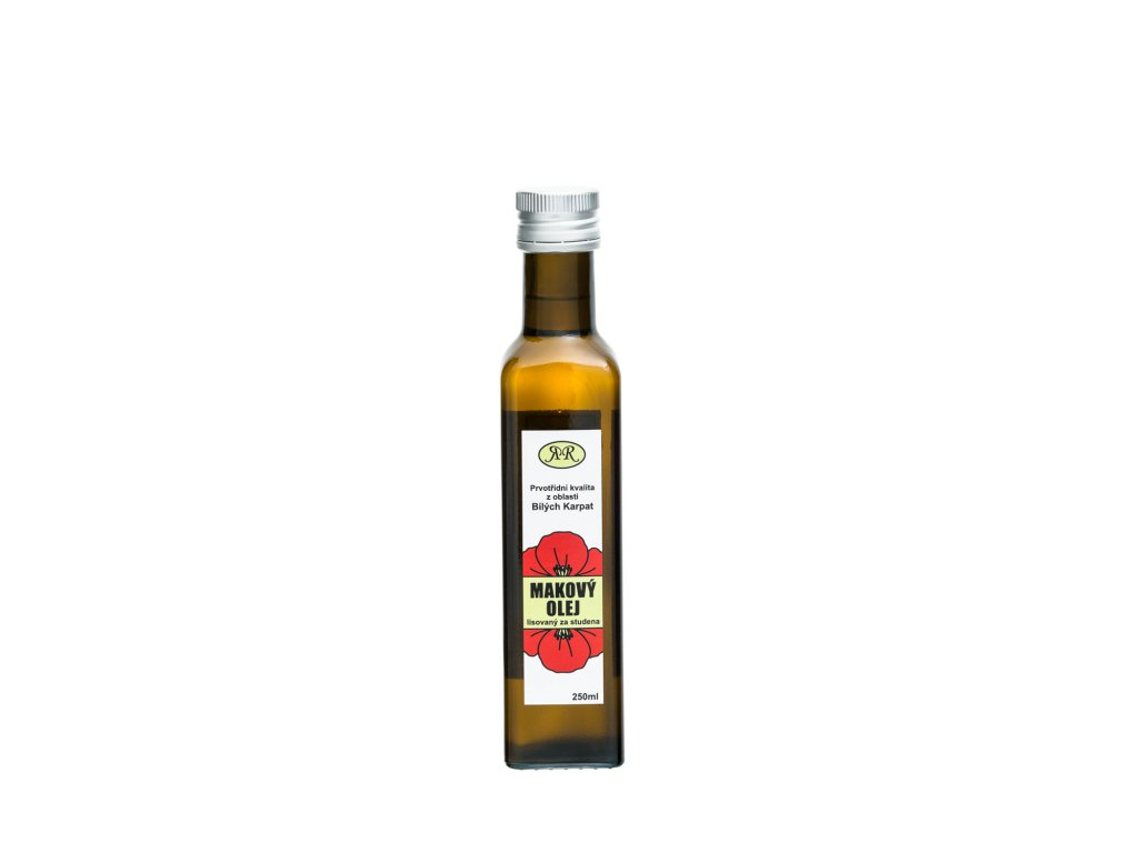 Makový olej  nerafinovaný