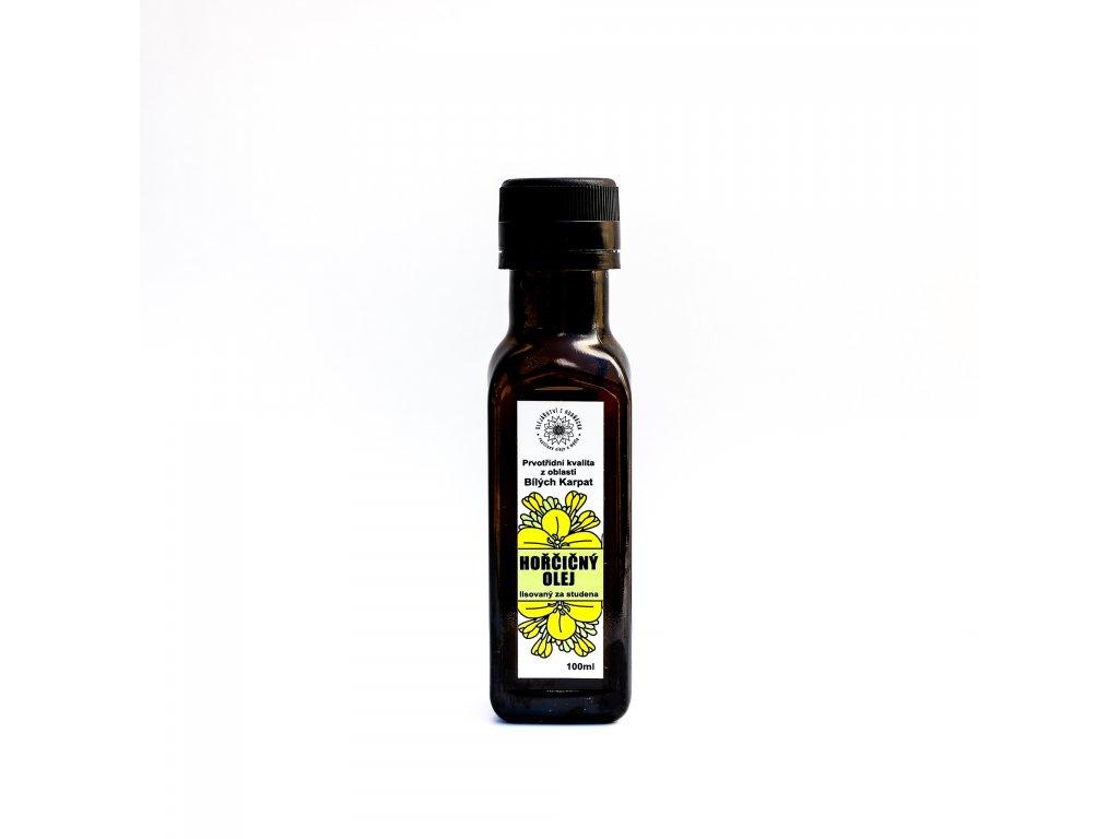 Hořčičný olej - BIO  z BIO semínek hořčice žluté
