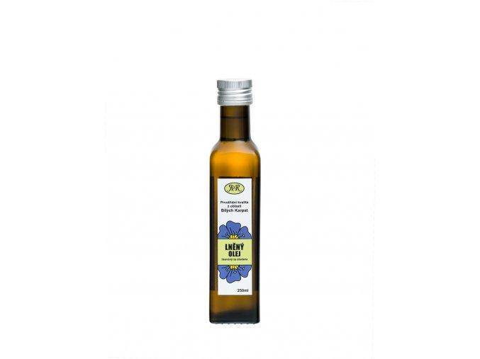 Lněný olej  s omega 3 mastnými kyselinami