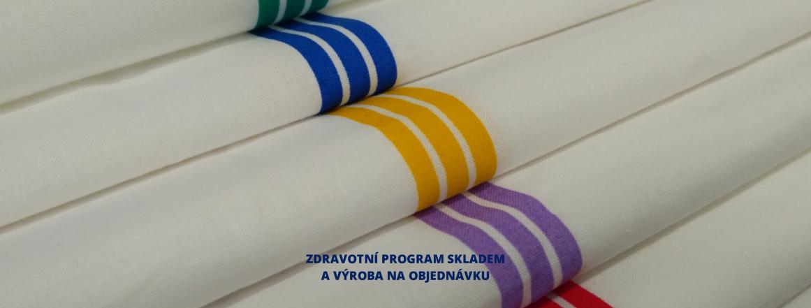 speciální tkaniny pro výrobu zdravotního textilu