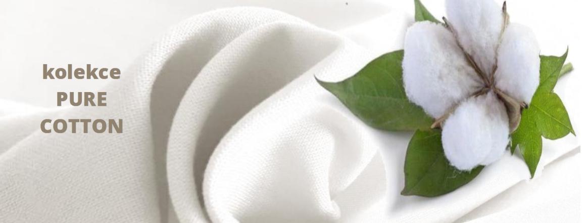 Kolekce PURE COTTON organické tkaniny ze 100% bavlny