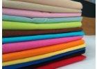 Plátno barevné, šíře 150cm praní 60°C