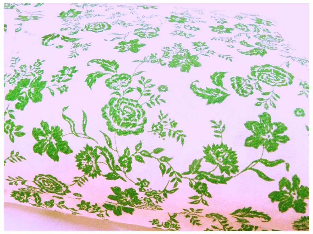 HANA 120 Chlupkal (213016-1-1 Růže zelená malá)-141cm / VELKOOBCHOD