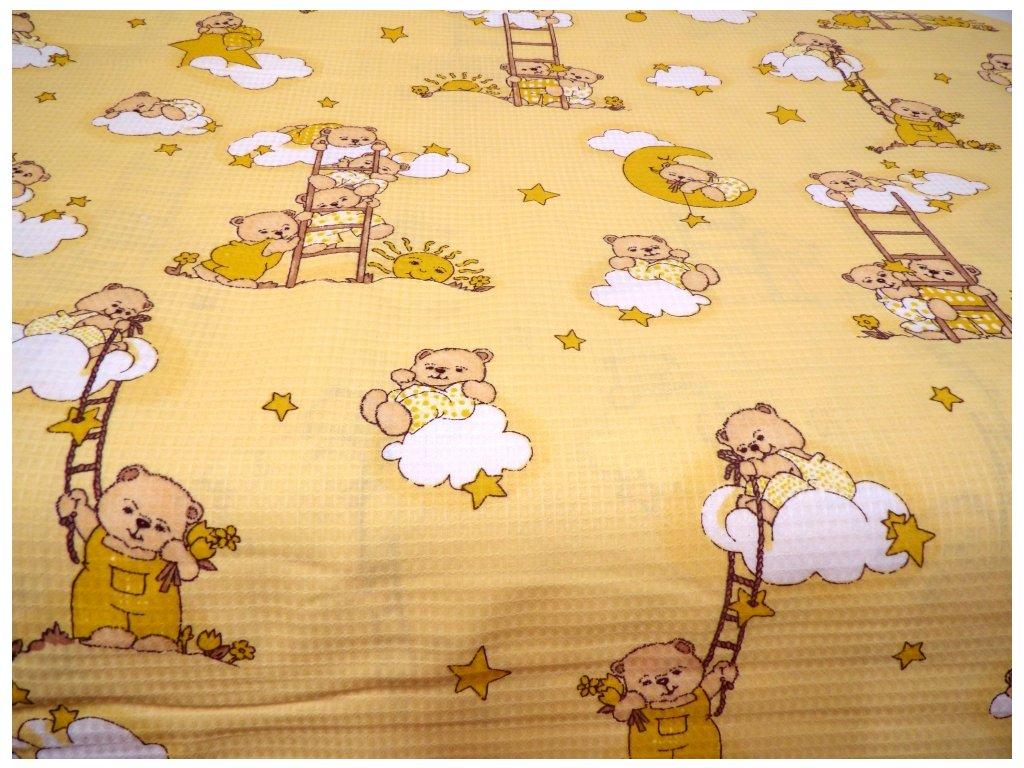HAFLE 120 (212768-8-3 Medvídek žebřík žlutý)