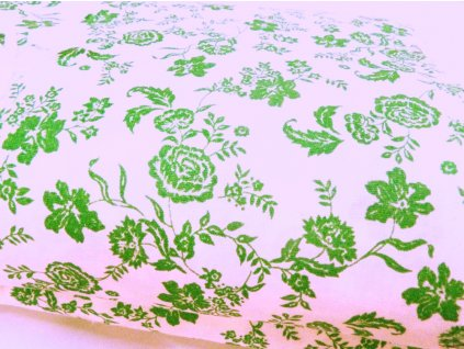 HANA 120 Chlupkal (213016-1-1 Růže zelená malá)-141cm